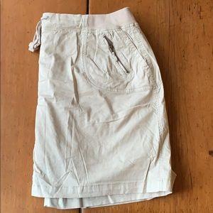 Cotton Tan Skort